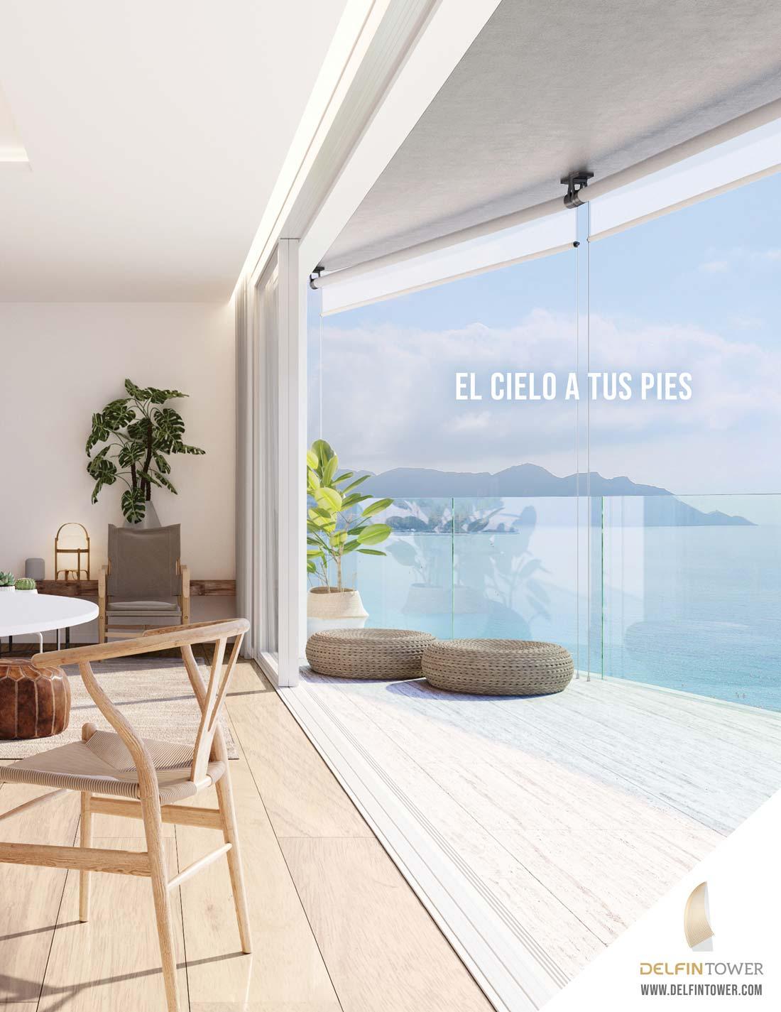 giset design delfin tower campaña publicitaria