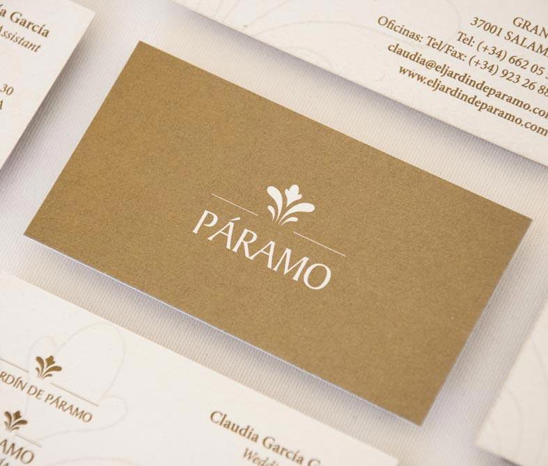 giset design paramo tarjetas de visita