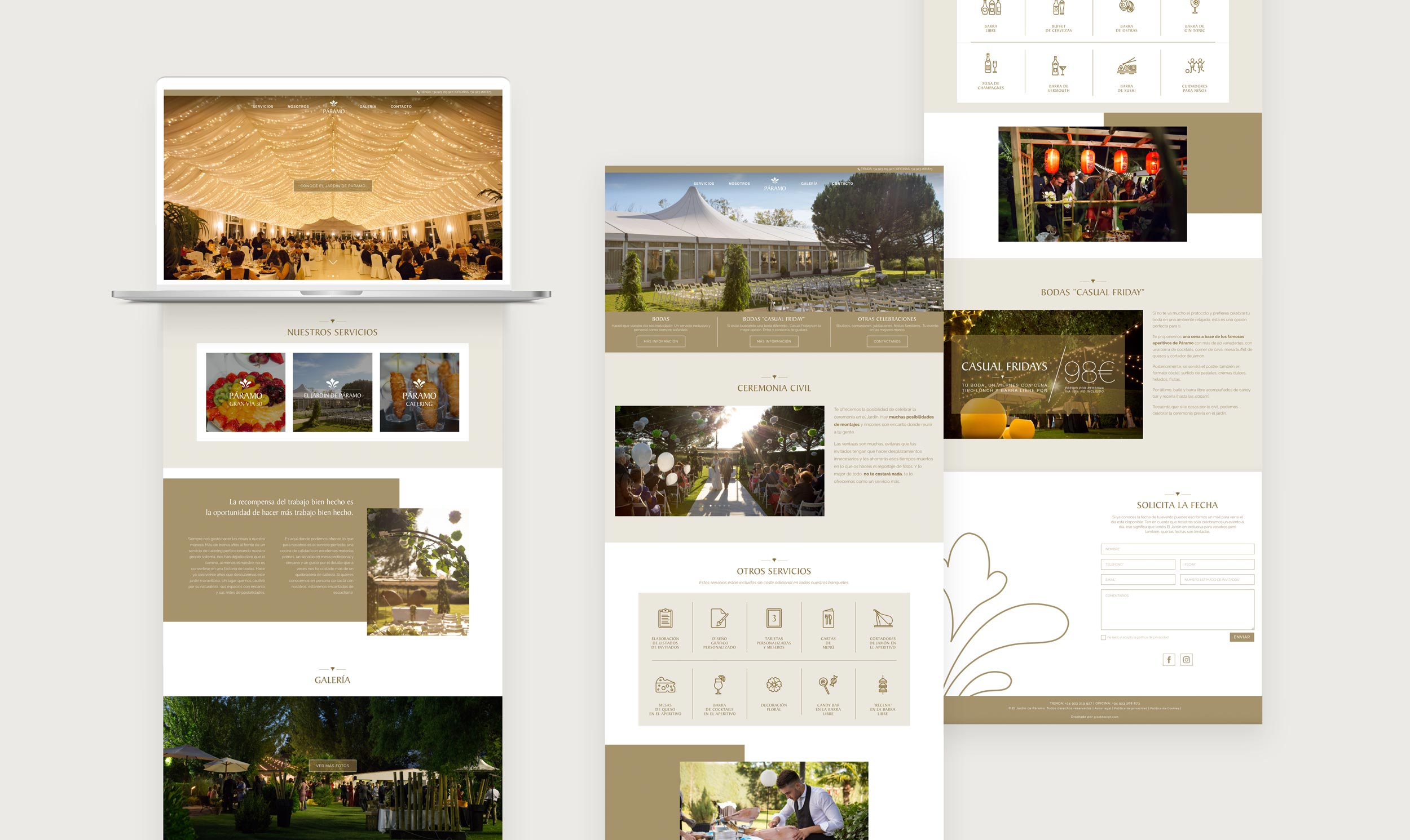 giset design web paramo