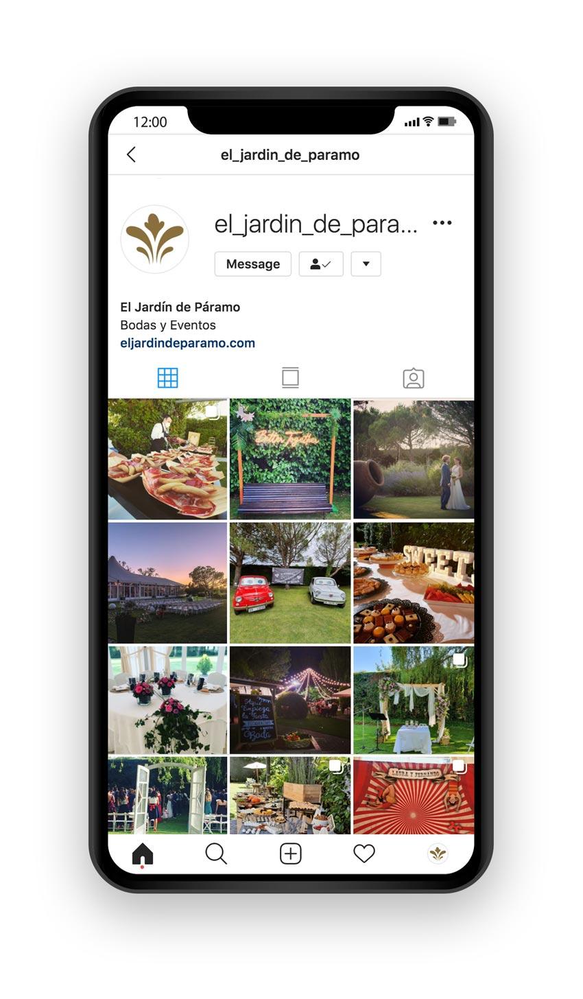 paramo redes sociales instagram